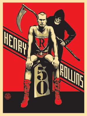 Shepard Fairey & Henry Rollins '50' Another New Print ?