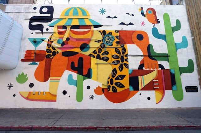 Life Is Beautiful '15: Ruben Sanchez unveils a new mural in Downtown Las Vegas