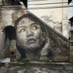 RONE creates a new series of pieces in Penang, Malaysia
