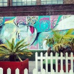 RONE New Mural In Progress, London