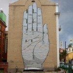 "Escif ""Heil"" New Mural – Moscow, Russia"