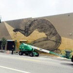 Faith47 Work In Progress For Art Basel '13 – Wynwood, Miami