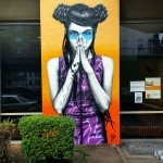 Fin DAC paints a new mural in Berlin, Germany for Urban Nation