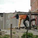 "Fintan Magee ""Bad Hunter"" New Mural – Bogota, Colombia"