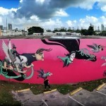 Kislow New Mural For Art Basel '13 – Miami, Florida