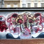 NYCHOS New Murals In Vienna, Austria