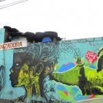 Stinkfish x Panesilla New Mural In Quito, Ecuador