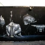 Kraser Tres New Mural In Cartagena, Spain