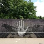 Alexis Diaz New Mural In Vienna, Austria (Part II)