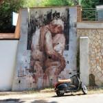 Borondo New Mural In Pizzo, Italy