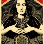 """Shepard Fairey """"Peace & Justice Woman"""" New Print Available April 18th"""