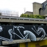 Phlegm New Mural In London, UK