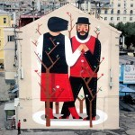 Agostino Iacurci New Mural In Moscow, Russia
