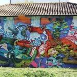 Alëxone New Mural In Basel, Switzerland