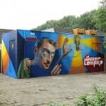 Belin New Mural In Eindhoven, Netherlands