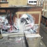 Ben Slow x Jim McElvaney New Mural In London, UK