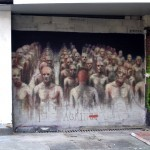 Borondo New Mural In Paris, France