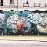 Bom.K x Brusk New Mural In Nantes, France