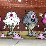Buff Monster New Mural In New York City, USA