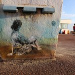C215 New Street Pieces In Fort-Mahon-Plage, France
