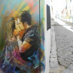 C215 New Street Pieces In Lagos, Portugal