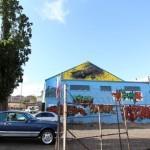 "DALeast ""Crashing Ego"" New Mural In Johannesburg, South Africa"