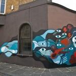 David Shillinglaw New Mural In London, UK