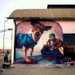 El Marian New Mural In Baradero, Argentina