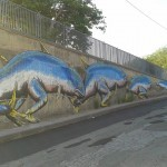 Ericailcane x Bastardilla New Mural In Giardini Naxos, Italy