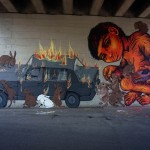 Ericailcane x Bastardilla New Mural In Modena, Italy (Part II)
