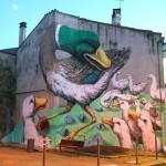 Ericailcane New Mural In Niort, France