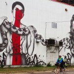 "Fin DAC x Angelina Christina ""The Serpenteens"" New Street Art – Minneapolis, USA"
