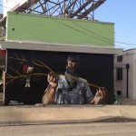 Fintan Magee x Epsy New Mural In Los Angeles, USA