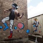 Fintan Magee x Numskull New Mural In Sydney, Australia