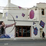 Fintan Magee x Numskull x Linz New Mural In Sydney, Australia