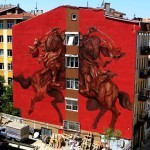 JAZ New Mural In Istanbul, Turkey