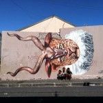 Gaia New Mural In Cape Town, South Africa