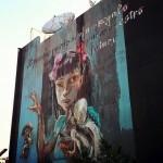 """Herakut """"El Pasado Puede Ser Un Regalo Para Nuestro Futuro"""" New Mural In Mexico City"""