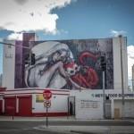 Herakut New Mural In Miami, USA