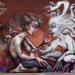Herakut New Mural In Toronto, Canada