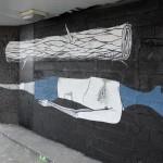 Herbert Baglione New Mural In Paris, France