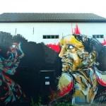 Erick Hikups x Eres New Mural In Brussels, Belgium