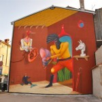 Interesni Kazki New Mural In Vodnjan, Croatia