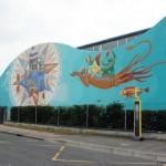 Interesni Kazki x Kislow New Mural In Fleury Les Aubrais, France