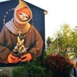 INTI New Mural In Cochabamba, Bolivia