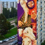 INTI New Street Art For Fundacja Urban Forms '13 – Lodz, Poland