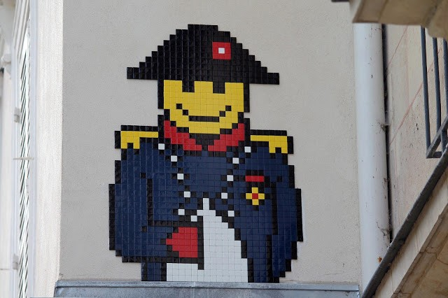 """""""PA_1167 & PA_1165"""", brand new invasions by Invader in Paris, France"""