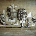 Jack TML x Signer AFK New Mural In Jerusalem, Israel
