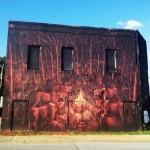 JAZ New Mural In Atlanta, USA