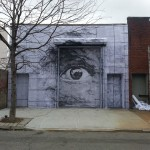 JR x Daniel Arsham New Mural In New York City, USA